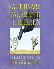 Cover of: Cautionary tales for children | Hilaire Belloc