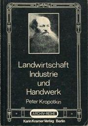 Landwirtschaft, Industrie und Handwerk