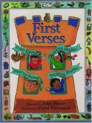Cover of: First Verses |