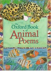 Cover of: The Oxford book of animal poems