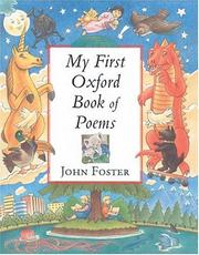 Cover of: My first Oxford book of poems | compiled by John Foster.