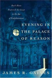 Cover of: Evening in the palace of reason | James R. Gaines