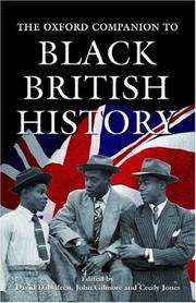 Cover of: The Oxford Companion to Black British History |