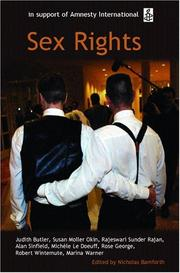 Cover of: Sex Rights