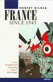 Cover of: France Since 1945 (OPUS)
