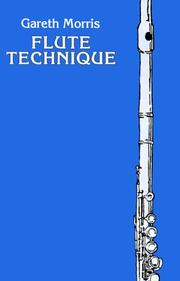 Cover of: Flute technique