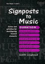 Signposts to Music by Judith Lougheed