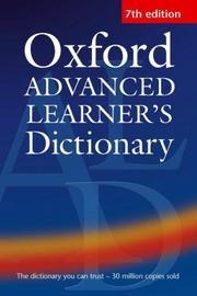Cover of: Oxford Advanced Learner
