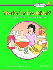 Cover of: What's for breakfast? | Judith Bauer Stamper