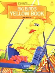 Cover of: Open Sesame: Big Bird