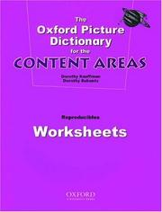Cover of: Opd For Content Areas, Worksheets
