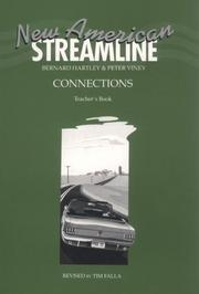 Cover of: New American Streamline Connections - Intermediat: An Intensive American-English Series for Intermediate Students | Bernard Hartley