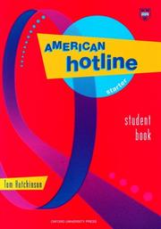 Cover of: American hotline starter student book