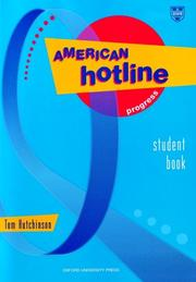 Cover of: American hotline progress student book