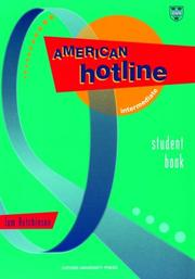 Cover of: American hotline intermediate student book