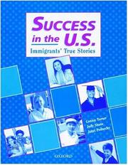 Cover of: Success in the U.S. | Connie Turner