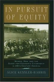 Cover of: In Pursuit of Equity | Alice Kessler-Harris
