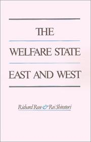 Cover of: The Welfare state East and West