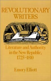 Cover of: Revolutionary Writers