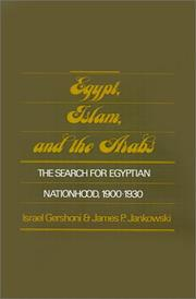 Cover of: Egypt, Islam, and the Arabs