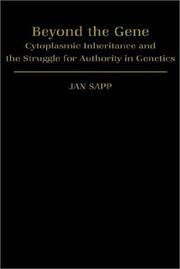 Cover of: Beyond the gene | Jan Sapp