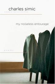 Cover of: My Noiseless Entourage: Poems