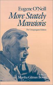 Cover of: More stately mansions