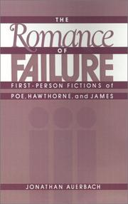 Cover of: The romance of failure