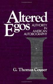 Cover of: Altered egos | G. Thomas Couser