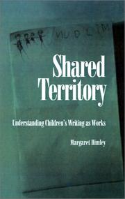 Cover of: Shared territory