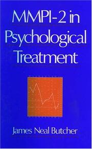 Cover of: MMPI-2 in psychological treatment