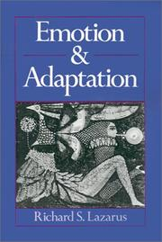 Cover of: Emotion and adaptation | Richard S. Lazarus