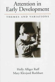 Cover of: Attention in early development