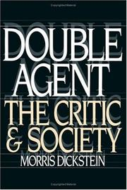 Cover of: Double agent | Morris Dickstein