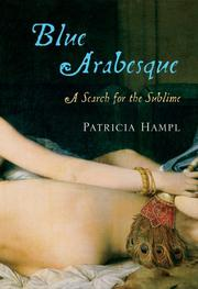 Cover of: Blue Arabesque | Patricia Hampl