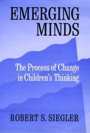 Cover of: Emerging minds