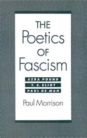 The poetics of fascism by Morrison, Paul