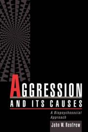 Cover of: Aggression and its causes