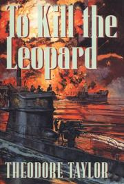Cover of: To kill the leopard