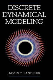 Cover of: Discrete dynamical modeling | James T. Sandefur