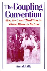 Cover of: The coupling convention
