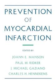 Cover of: Prevention of myocardial infarction |