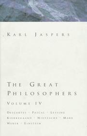 Grossen Philosophen by Karl Jaspers