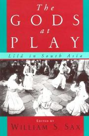 Cover of: The Gods at play |