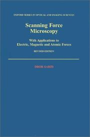 Scanning force microscopy by Dror Sarid