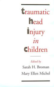 Cover of: Traumatic head injury in children |