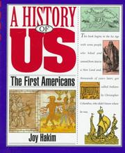 Cover of: A History of US: Book 1