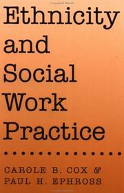 Cover of: Ethnicity and social work practice