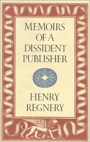 Cover of: Memoirs of a dissident publisher