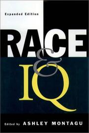 Cover of: Race and IQ